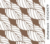 pattern. the leaves on solid... | Shutterstock .eps vector #451424479