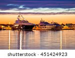Luxury Yachts Harbor At Golden...