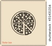 vector illustration of icon for ... | Shutterstock .eps vector #451431316