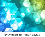 abstract colorful background... | Shutterstock . vector #451433218