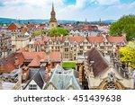 Oxford Cityscape. Oxfordshire ...
