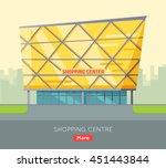 shopping centre web page...   Shutterstock .eps vector #451443844