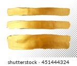strip gold texture. vector... | Shutterstock .eps vector #451444324