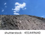 old coal mining site in western ... | Shutterstock . vector #451449640
