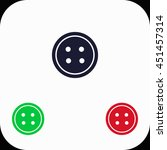 button illustration set. blue ... | Shutterstock .eps vector #451457314