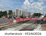 saint petersburg  russia.  30... | Shutterstock . vector #451463026