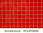 Red  Glossy   Ceramic Tile ...