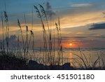 Beautiful Sunrise With Sea...