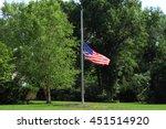 Horizontal Image Of An America...