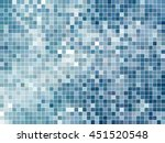 abstract square pixel mosaic... | Shutterstock .eps vector #451520548