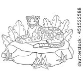 coloring pages. cute spotted
