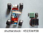 handmade rc car model ... | Shutterstock . vector #451536958