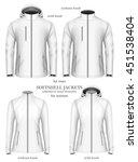 set of women's and men's... | Shutterstock .eps vector #451538404