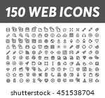 web icons 4 | Shutterstock .eps vector #451538704