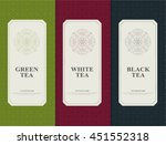 set of elements packages style... | Shutterstock .eps vector #451552318