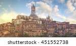 beautiful view of the historic...   Shutterstock . vector #451552738