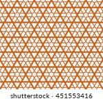 seamless islamic pattern of 6...   Shutterstock .eps vector #451553416