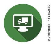 truck icon  flat design style   Shutterstock .eps vector #451562680