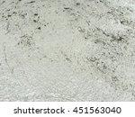 newly poured concrete floor  | Shutterstock . vector #451563040