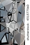 randomly scattered triangles of ... | Shutterstock .eps vector #451577560
