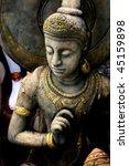 Buddha Warrior Stone Statue ...