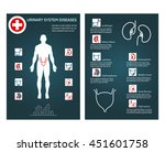 brochure health flyer template... | Shutterstock .eps vector #451601758