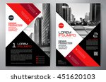 business brochure flyer design... | Shutterstock .eps vector #451620103