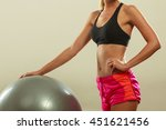 sport  training  gym and... | Shutterstock . vector #451621456