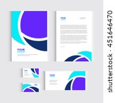 brochure  flyer or report for... | Shutterstock .eps vector #451646470
