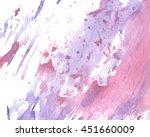 splatter watercolor colorful... | Shutterstock .eps vector #451660009