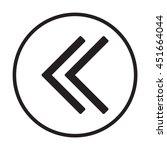 arrow  icon. flat design. | Shutterstock .eps vector #451664044