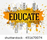 educate word cloud collage ...