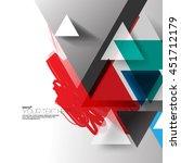 modern abstract digital...   Shutterstock .eps vector #451712179