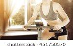 sun light in retro window and... | Shutterstock . vector #451750570