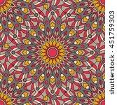vector seamless pattern.... | Shutterstock .eps vector #451759303