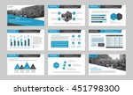 elements of infographics for... | Shutterstock .eps vector #451798300