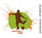 football sign | Shutterstock .eps vector #45180154