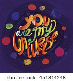 """the inscription """"you are my...   Shutterstock . vector #451814248"""