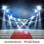stage lighting background | Shutterstock . vector #451825666