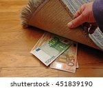 Saving Money Under A Mat