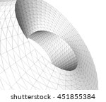 architectural background 3d... | Shutterstock . vector #451855384
