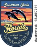 Florida State Emblem  Dolphin ...