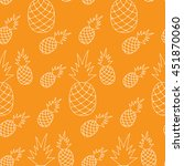 vector seamless pattern with... | Shutterstock .eps vector #451870060