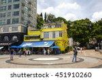 hong kong  china   july 1  2016 ... | Shutterstock . vector #451910260