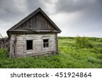 Dilapidated Old Wooden Rustic...