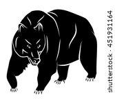 bear | Shutterstock .eps vector #451931164