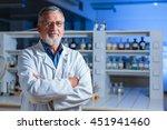 senior chemistry professor...   Shutterstock . vector #451941460