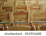 picture of many wooden seat