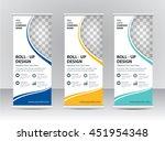 roll up banner template   Shutterstock .eps vector #451954348
