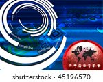 abstract vector background | Shutterstock .eps vector #45196570